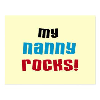 My Nanny Rocks T shirts and Gifts Postcard