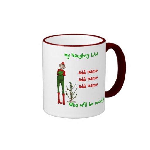 My Naughty List Mug