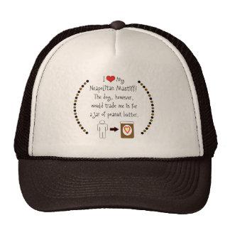 My Neapolitan Mastiff Loves Peanut Butter Mesh Hat
