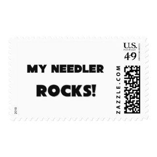 MY Needler ROCKS! Postage Stamps