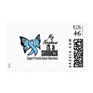 My Nephew is a Survivor - Prostate Cancer Postage Stamp