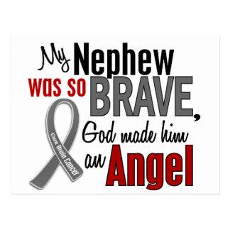 My Nephew Is An Angel 1 Brain Cancer Post Card