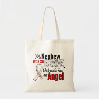 My Nephew Is An Angel Lung Cancer Bags