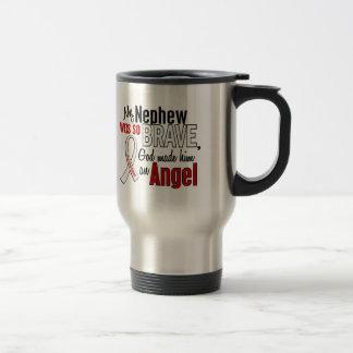 My Nephew Is An Angel Lung Cancer Coffee Mug
