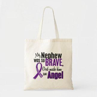My Nephew Is An Angel Pancreatic Cancer Bags