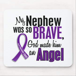 My Nephew Is An Angel Pancreatic Cancer Mouse Pads