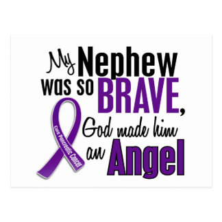My Nephew Is An Angel Pancreatic Cancer Post Cards