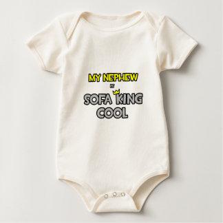 My Nephew Is Sofa King Cool Baby Bodysuit