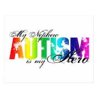 My Nephew My Hero  - Autism Postcard