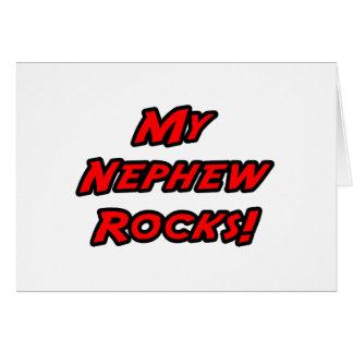 My Nephew Rocks Greeting Card