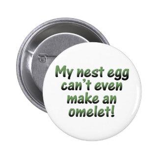 My Nest Egg 2 Inch Round Button