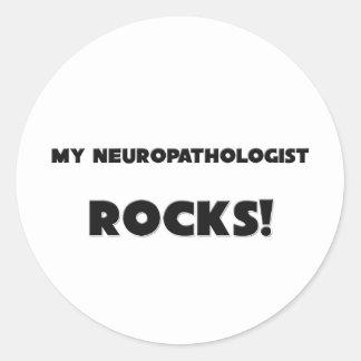 MY Neuropathologist ROCKS! Sticker