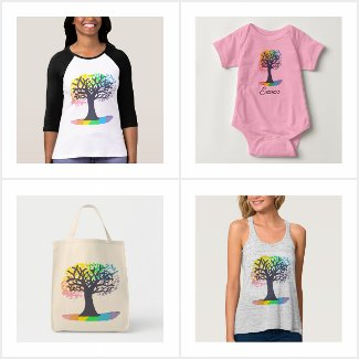 My New Rainbow Tree Collection