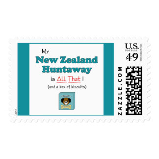 My New Zealand Huntaway is All That! Stamps