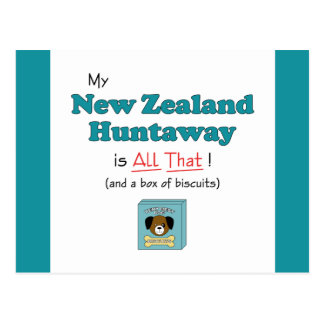 My New Zealand Huntaway is All That! Postcard