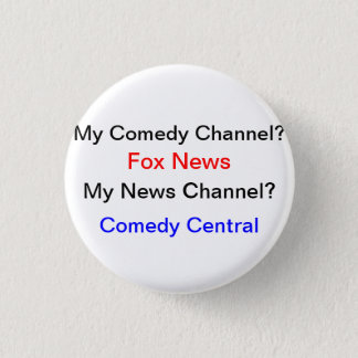 My News Source? Pinback Button