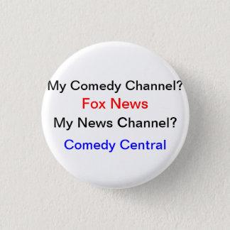 My News Source? Pinback Button