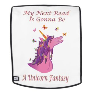 My Next Read Is Gonna Be A Unicorn Fantasy Backpack