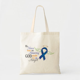 My Niece An Angel - Anal Cancer Tote Bag