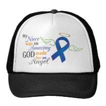 My Niece An Angel - Anal Cancer Trucker Hat
