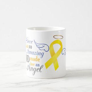 My Niece An Angel - Bladder Cancer Coffee Mug