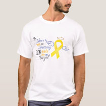 My Niece An Angel - Bladder Cancer T-Shirt