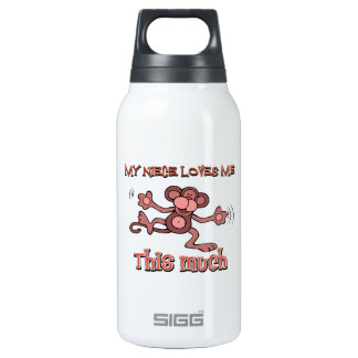 My niece loves me this much insulated water bottle