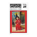 My Night out- Halloween Postage Stamps