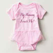 My ninang loves me! baby bodysuit
