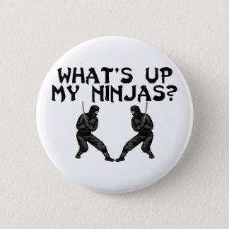 My Ninjas Pinback Button
