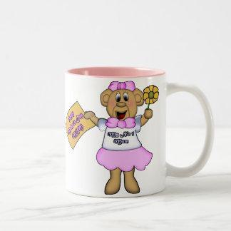 My No 1 Mum Two-Tone Coffee Mug