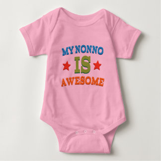 My Nonno is Awesome Baby Bodysuit