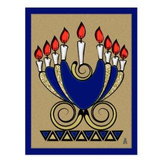 My 'Nora (Hanukkah Postcard)
