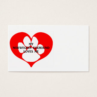 my norwegian elkhound loves me.png business card