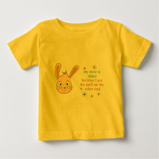 My Nose is Shiny Baby T-Shirt