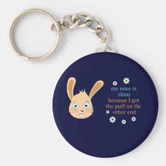My Nose is Shiny Keychain