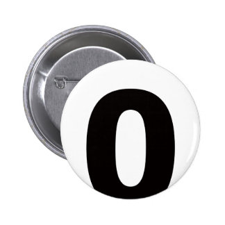 My Number Is 0! Buttons
