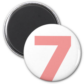My number is 7 magnet