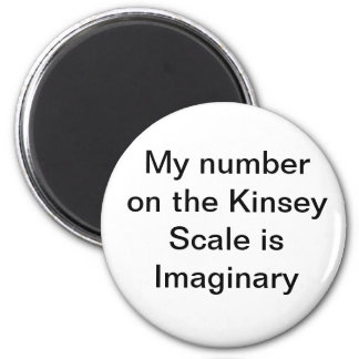 My number on the Kinsey Scale is Imaginary Magnet