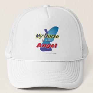 My Nurse is my Angel Trucker Hat