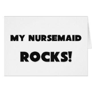 MY Nursemaid ROCKS! Greeting Cards