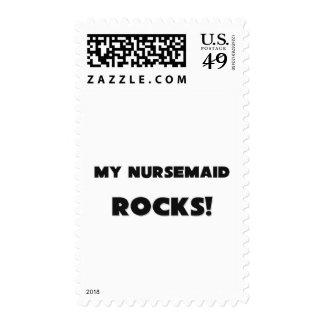 MY Nursemaid ROCKS! Stamp