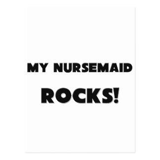 MY Nursemaid ROCKS! Postcard