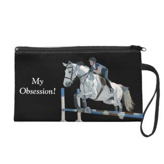 My Obsession Horse Jumper Bagettes Bag Wristlet