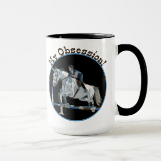 My Obsession Horse Jumper Mug
