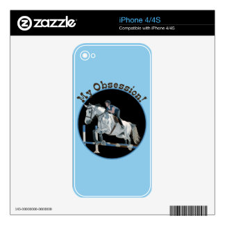My Obsession Horse Jumper Skins For iPhone 4S