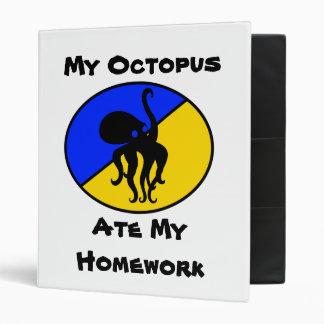 My Octopus Ate My Homework Binder