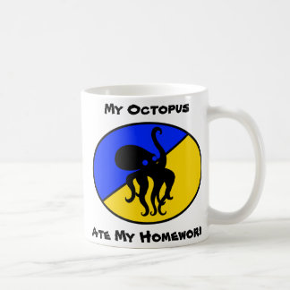 My Octopus ate my homework Coffee Mug