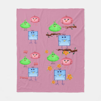 My Odd Family Fleece Blanket