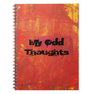 My Odd Thoughts Notebook